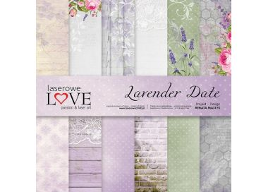 Collection Papiers LAVENDER DATE LASEROWE LOVE
