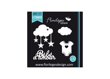 Dies BEBE D'AMOUR FLORILEGES DESIGN