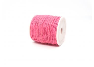Ficelle de Jute 2mm ROSE