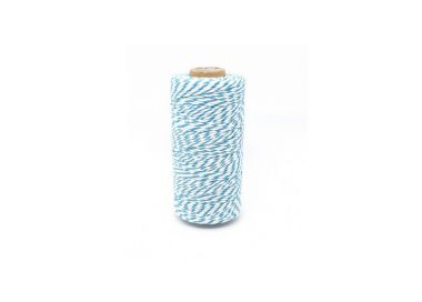 Ficelle Baker's Twine BLEU TURQUOISE MAY ARTS RIBBON